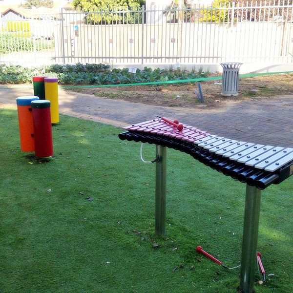 Music Making In Primary School Playground Hits All The Right Notes